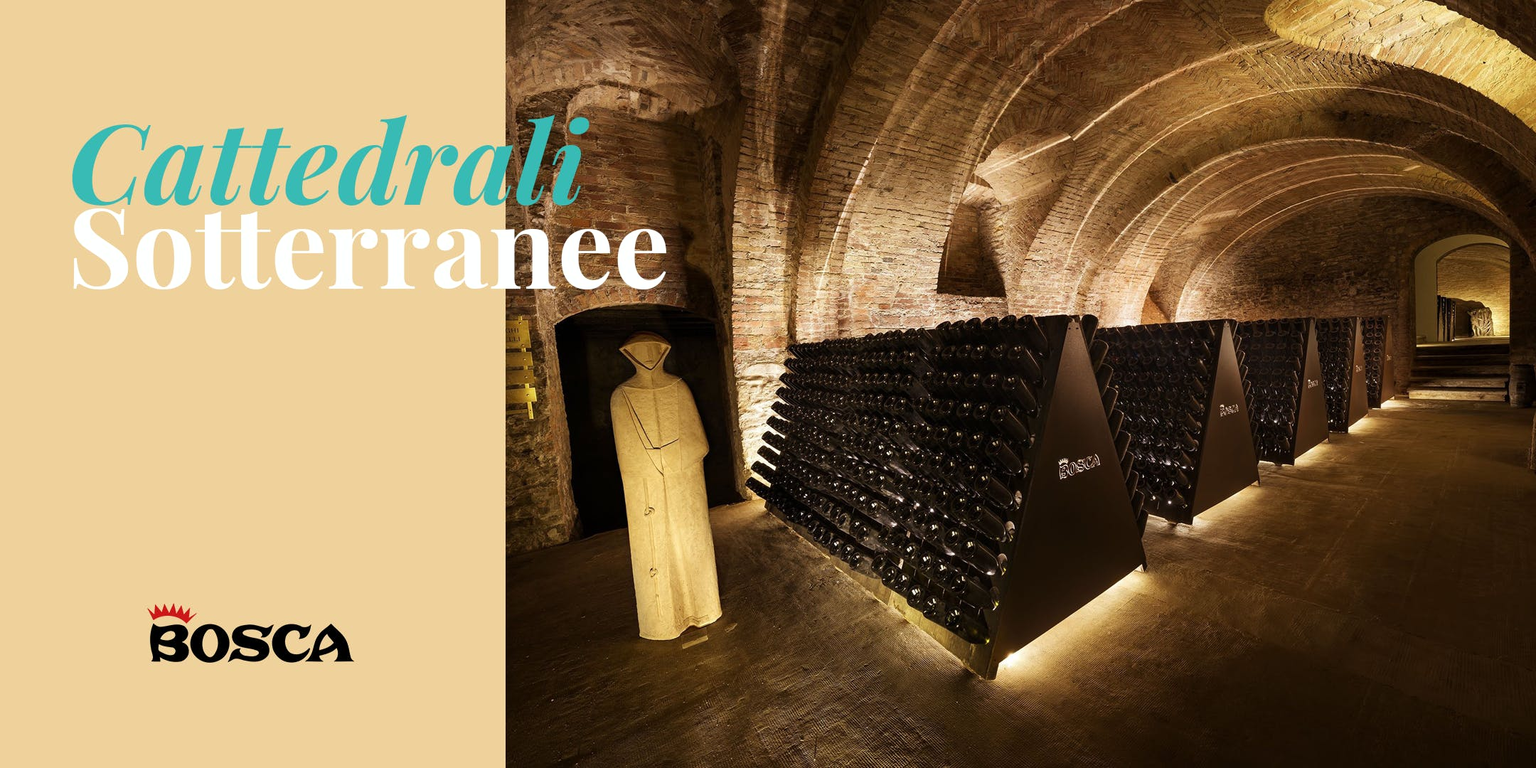 Tour in English - Bosca Underground Cathedral on 21st October at 12:20 pm
