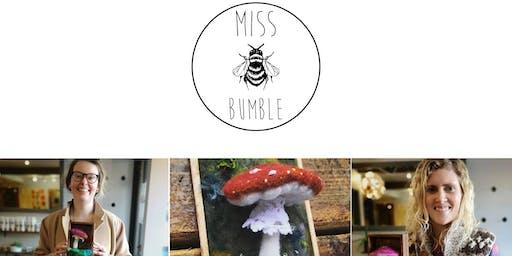 Needle Felted Mushroom Workshop - $55/ person