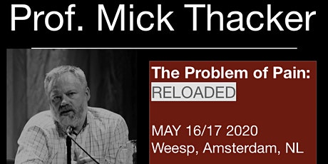Mick Thacker The Problem of Pain: RELOADED tickets