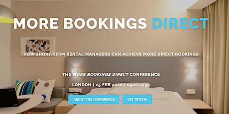 More Bookings Direct Conference tickets