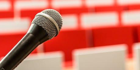 Atelier pratique : Comment parler en public ? billets