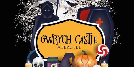 Halloween Spooktacular at Gwrych Castle - Reserved Onsite Parking