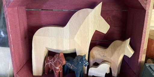 Dala Horse Carving Day - April