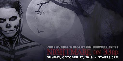 NoBe Sunday's Nightmare on 33rd Block Party