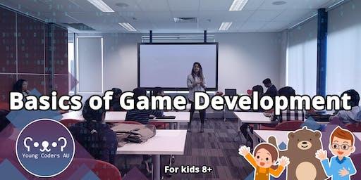 Young Coders AU - Basics of Game Development