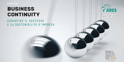 Business continuity: garantire il successo e la sostenibilità d'impresa