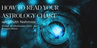 How to Read your Own Astrological Chart with Ruth Nahmias