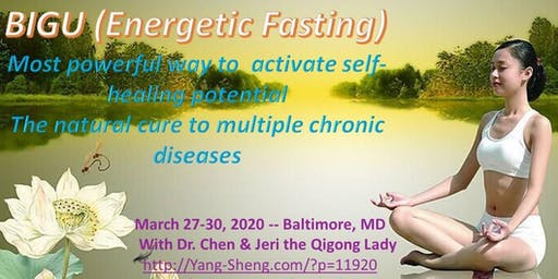4-Day Qigong Bigu (Energetic Fasting)with Dr. Kevin Chen