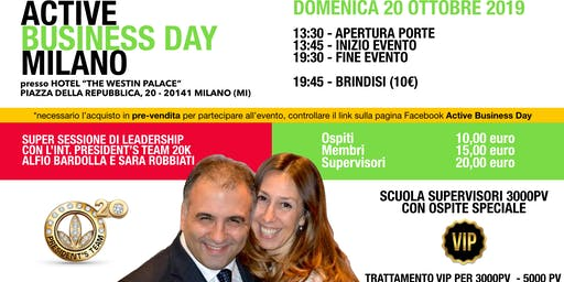 Active Business Day Milano - 20 Ottobre 2019