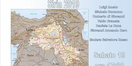 Siria 2019 biglietti