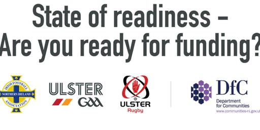 State of Readiness - Are you ready for funding?