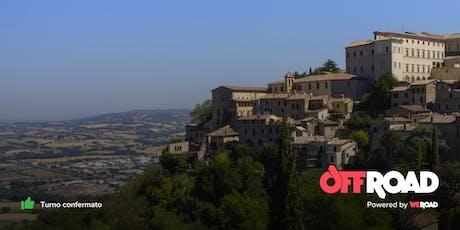 OffRoad: nel cuore dell'Umbria biglietti