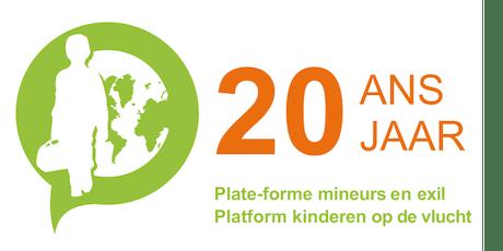 20 jaar Platform Kinderen op de vlucht / 20 ans Plate-forme Mineurs en exil billets