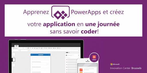 Une journée, une app : créez votre application avec PowerApps!