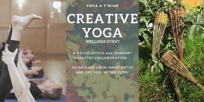 Yoga & T'wine - An afternoon of creative yoga and willow weaving
