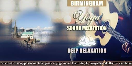 Meditation session in Birmingham
