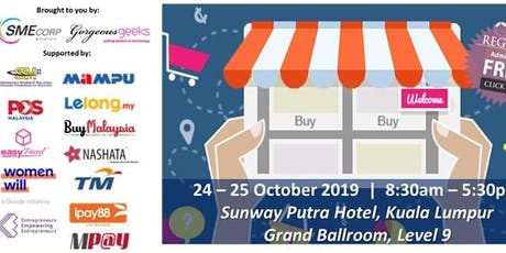 Women Netpreneur eCommerce Adoption Session (Kuala Lumpur): October 2019 tickets