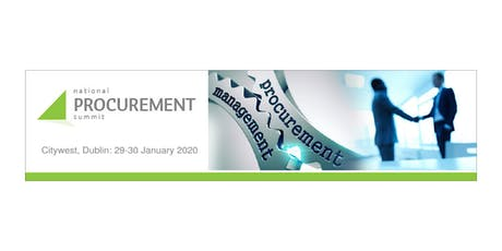 The National Procurement Summit tickets