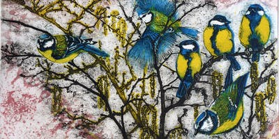 Julia Manning open studio in aid of Somerset Wildlife Trust