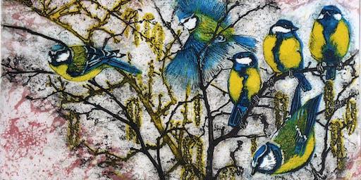 Julia Manning open studio in aid of Somerset Wildlife Trust