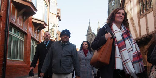Leicester's Inter Faith Walk  in Clarendon Park