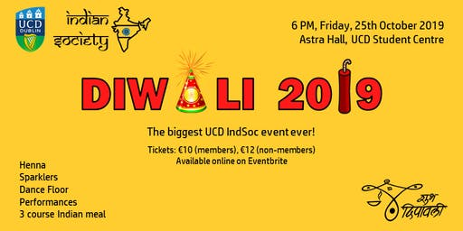 Diwali 2019 - UCD Indian Society