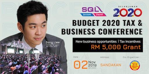Budget 2020 Tax & Business Conference (2020 财政预算案) - Sandakan