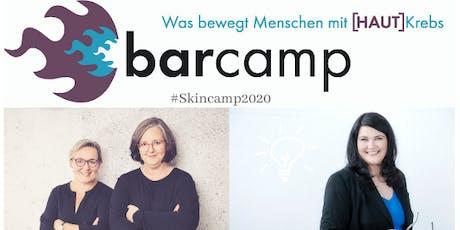 Barcamp Hautkrebs 2020 - Was bewegt Menschen mit Hautkrebs? Tickets