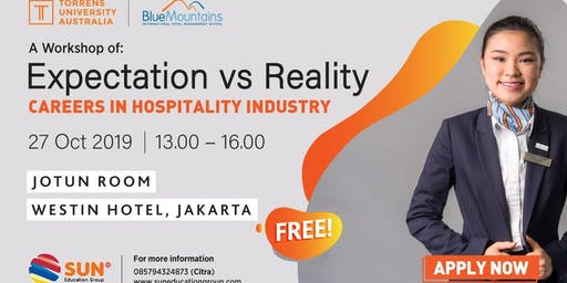 Workshop Expectation VS Reality Career in Hospitality
