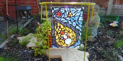 Garden Mosaic Sun Catcher (deposit)