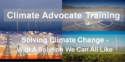 CCL Climate Advocate Training - DeKalb