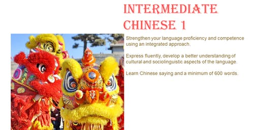 Conversational Chinese(Mandarin) Intermediate 1 Trial