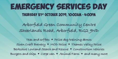 Emergency Services Day tickets