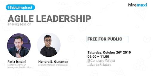 [FREE] Agile Leadership Sharing Session