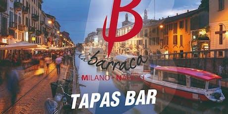 Cena a base di Paella & Sangria ♡ Tavolo Noelle biglietti