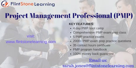PMP Certification Training Course in Jackson, MS tickets