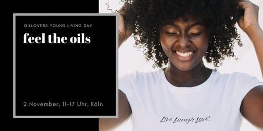 Oillovers - Young Living Day - feel the oils