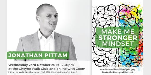 Make Me Stronger Mindset Meetup with Jonathan Pittam