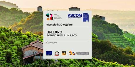 UN.EXPO – EVENTO FINALE UN.ES.CO biglietti
