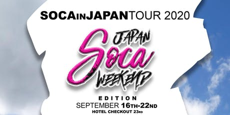 RSVP SOCA IN JAPAN TOUR 2020 tickets