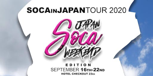 RSVP SOCA IN JAPAN TOUR 2020