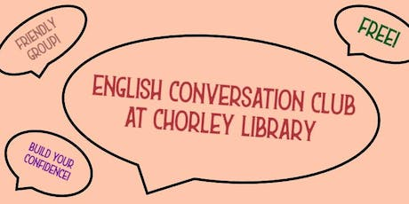 English Conversation Club (Chorley) tickets