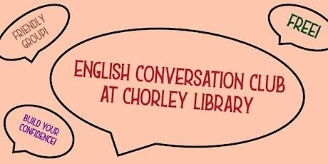 English Conversation Club (Chorley) tickets