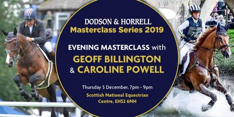 D&H Masterclass with Brand Ambassadors Geoff Billington and Caroline Powell tickets
