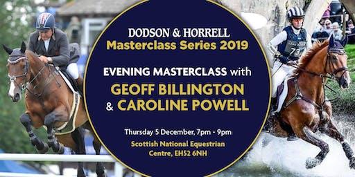 D&H Masterclass with Brand Ambassadors Geoff Billington and Caroline Powell