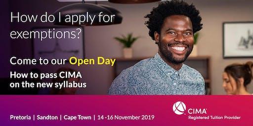 CIMA Open Day IBTC Cape Town