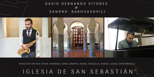 Concierto de David Hernando Vitores y Sandro Bakhuashvili en Toledo