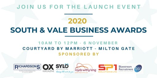South and Vale Business Awards 2020 - Launch Event
