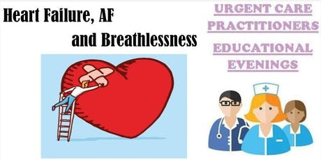 CPD - Heartfailure, AF and Breathlessness tickets