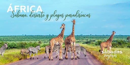 ÁFRICA: SABANA, DESIERTO Y PLAYAS PARADISÍACAS